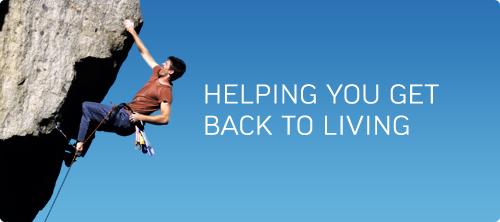 Helping You Get Back To Living